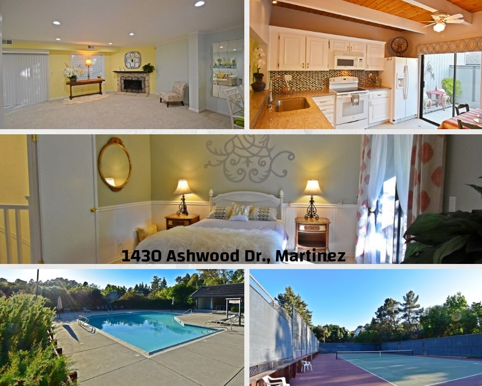 Charming Townhome in Martinez For Sale